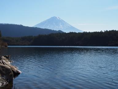 富士山 西湖