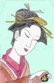 3浮世絵 鳥文斎栄之風俗畧六藝茶湯(2)