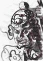 3蓮華王院 三十三間堂 【毘楼博叉像 びるばくしゃぞう】広目天(4)