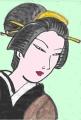 5浮世絵江戸自慢三十六興芝明神生粋旧暦九月二代広重三代豊国