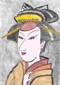 5浮世絵東洲斎写楽 初代中山富三郎敵討乗合話造酒之進娘宮城の(3)