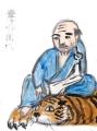 4豊千禅師(ぶかんぜんし)長沢芦雪