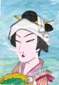 4浮世絵北斎 茶摘み図(1)