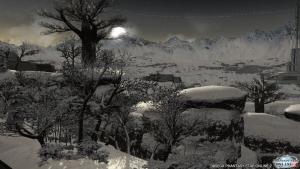 シーナリーパス・凍土 昼から夕