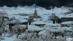 シーナリーパス・凍土 夜