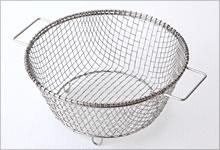 辻和金網丸形水切り籠