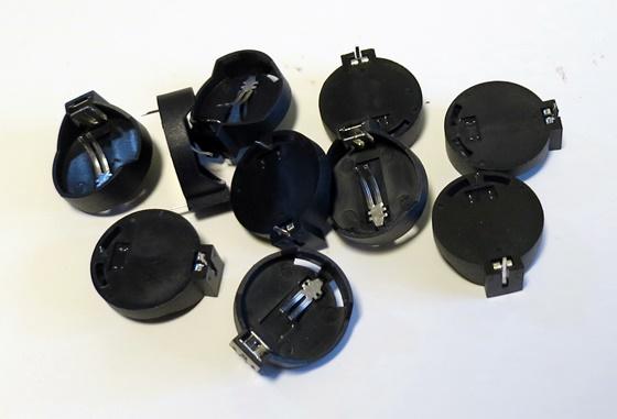 CR2032用の電池ホルダ10個