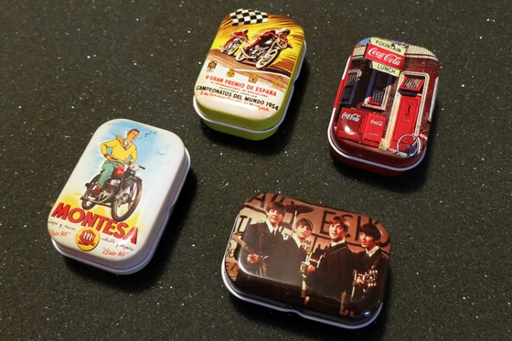 ブリキ缶4種