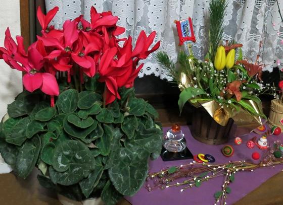 大当たりの花