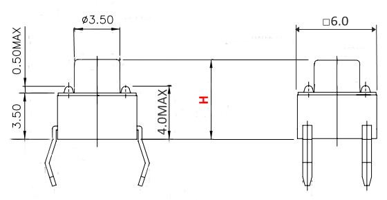 タクトSW寸法図