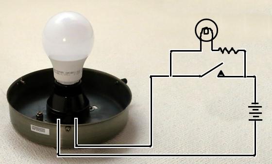 ホタルスイッチ回路