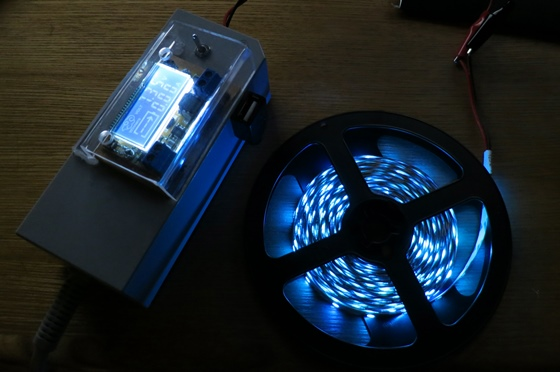 LEDテープ点灯