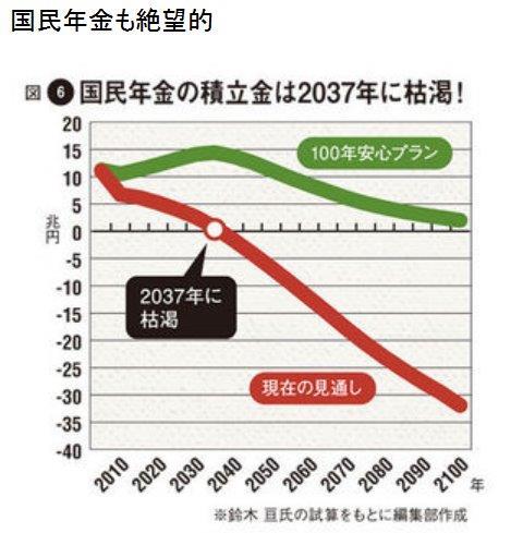 20151221国民年金枯渇2037年