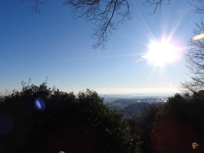 i 山頂からの眺め
