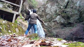 『 壬生沢不動滝 』②