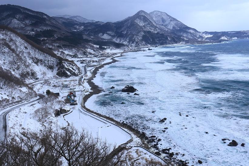 冬の岩谷口
