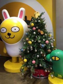 クリスマスも・・