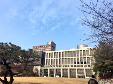 成均館大学の冬