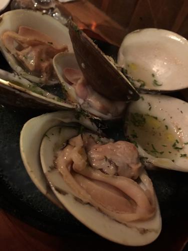 蛤とパンの相性バッチリッ!