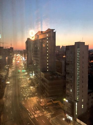 ソルラル。ソウルの朝。