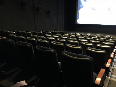 初の映画館貸切ッッッ!!!!笑