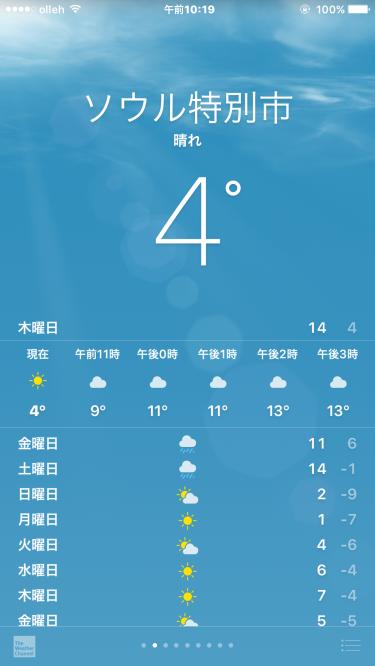 暖かい・・と思える気温w