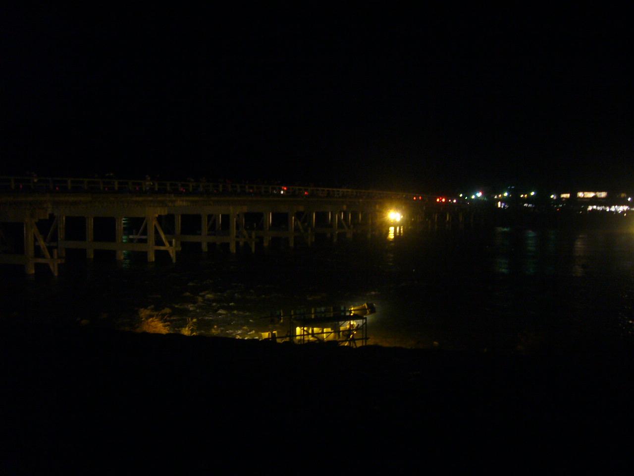 渡月橋ライトアップ H27.12.14