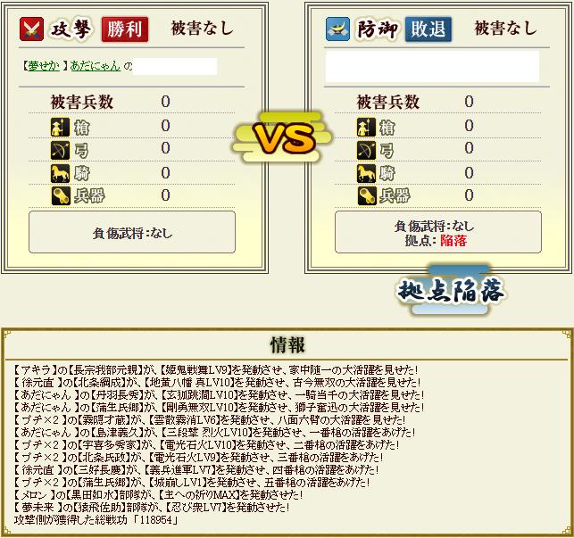 柴田盟主戦2