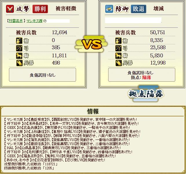 柴田盟主戦1