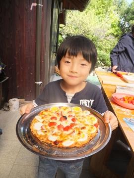 27年度ピザ焼き交流会秋11
