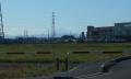 160号線よりみる富士山
