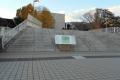 跨線橋の階段