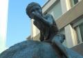 謎のブロンズ像②