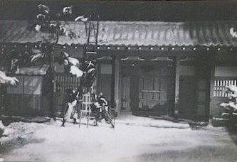 NHK(討ち入り」ロケ風景-1-1