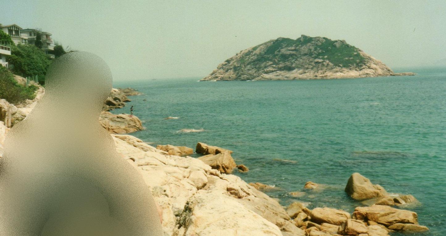 香港・石澳ビーチ⑤1994年4月-1