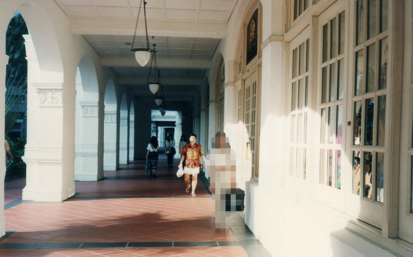シンガポール1994年5月4日ラッフルズホテル175-1