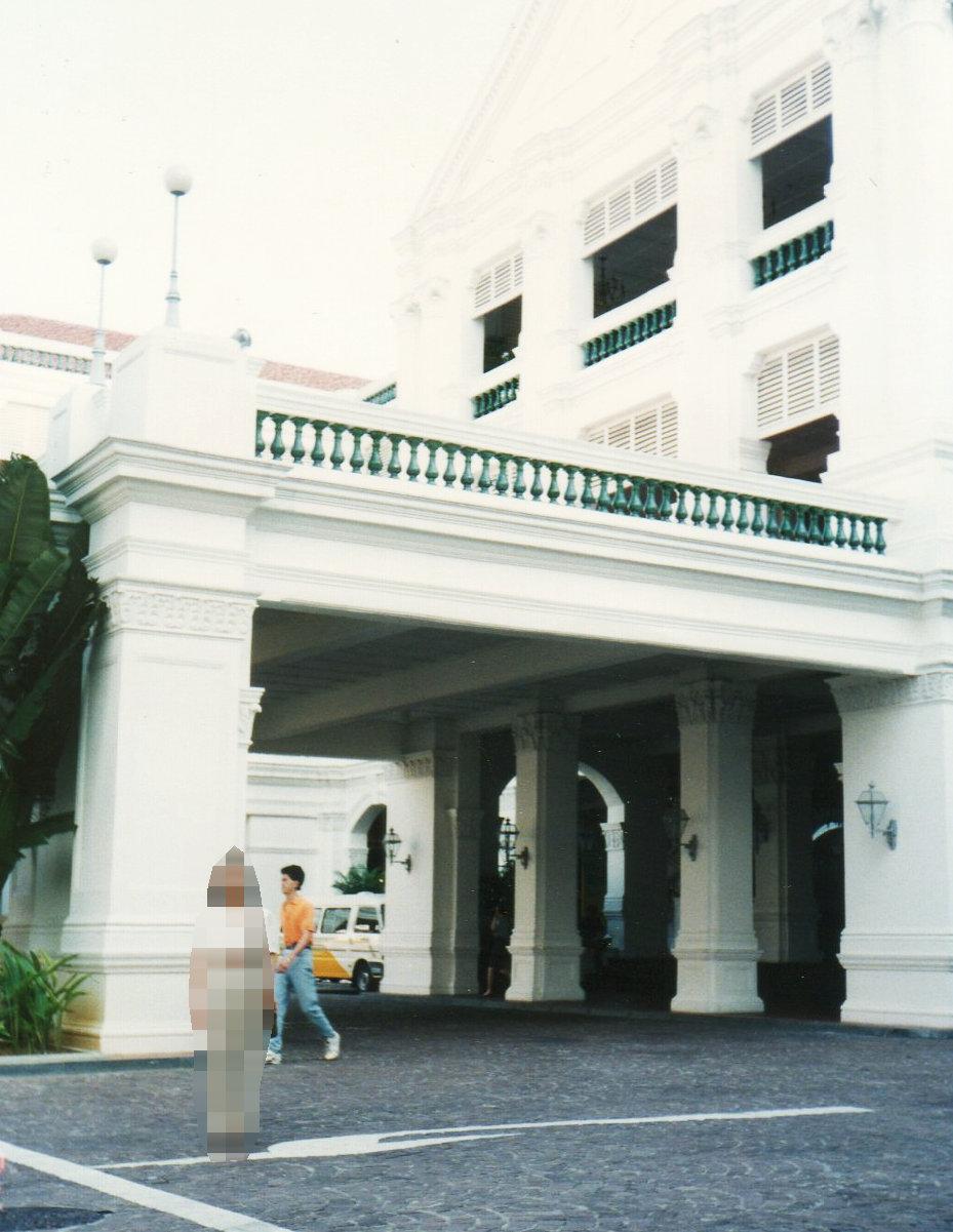 シンガポール1994年5月4日ラッフルズホテル②⑥176-1