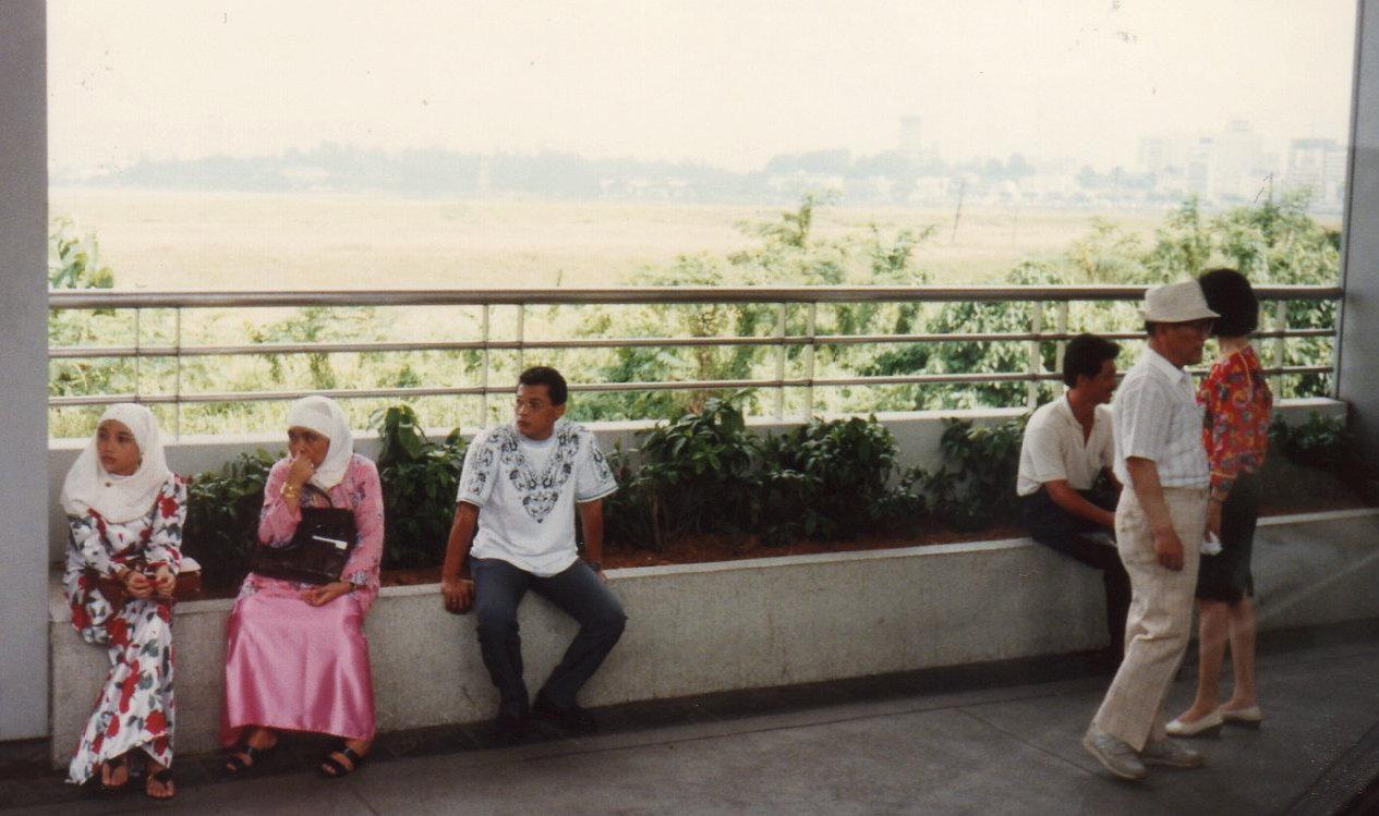 シンガポール1994年5月5日ジョホール水道180-1