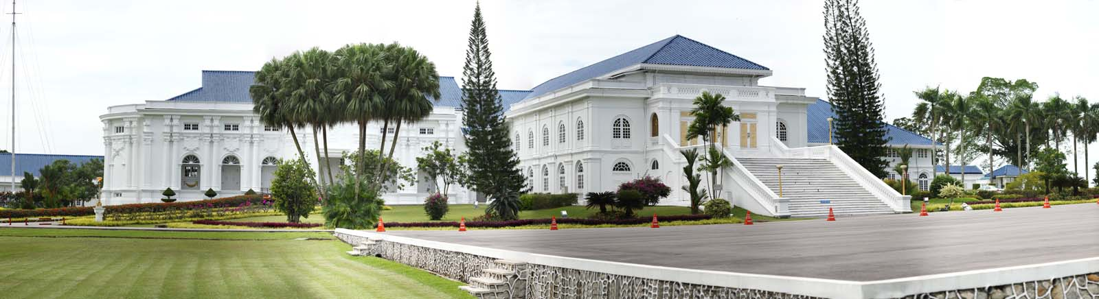 マレーシア ジョホールバル サルタン王宮全景