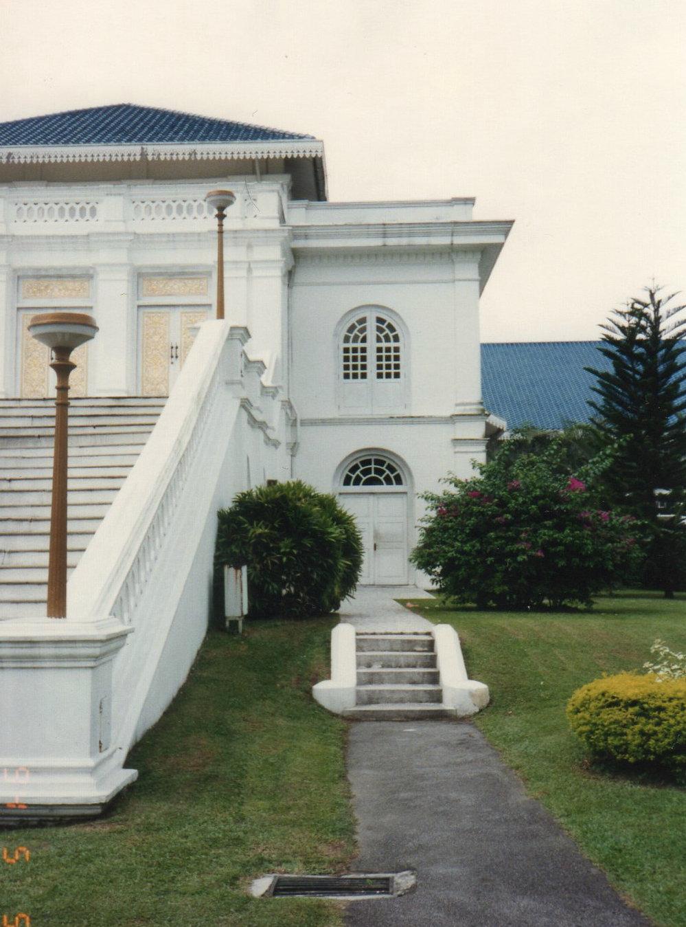 シンガポール1994年5月5日 ジョホー ルバル・サルタン王宮185③-1