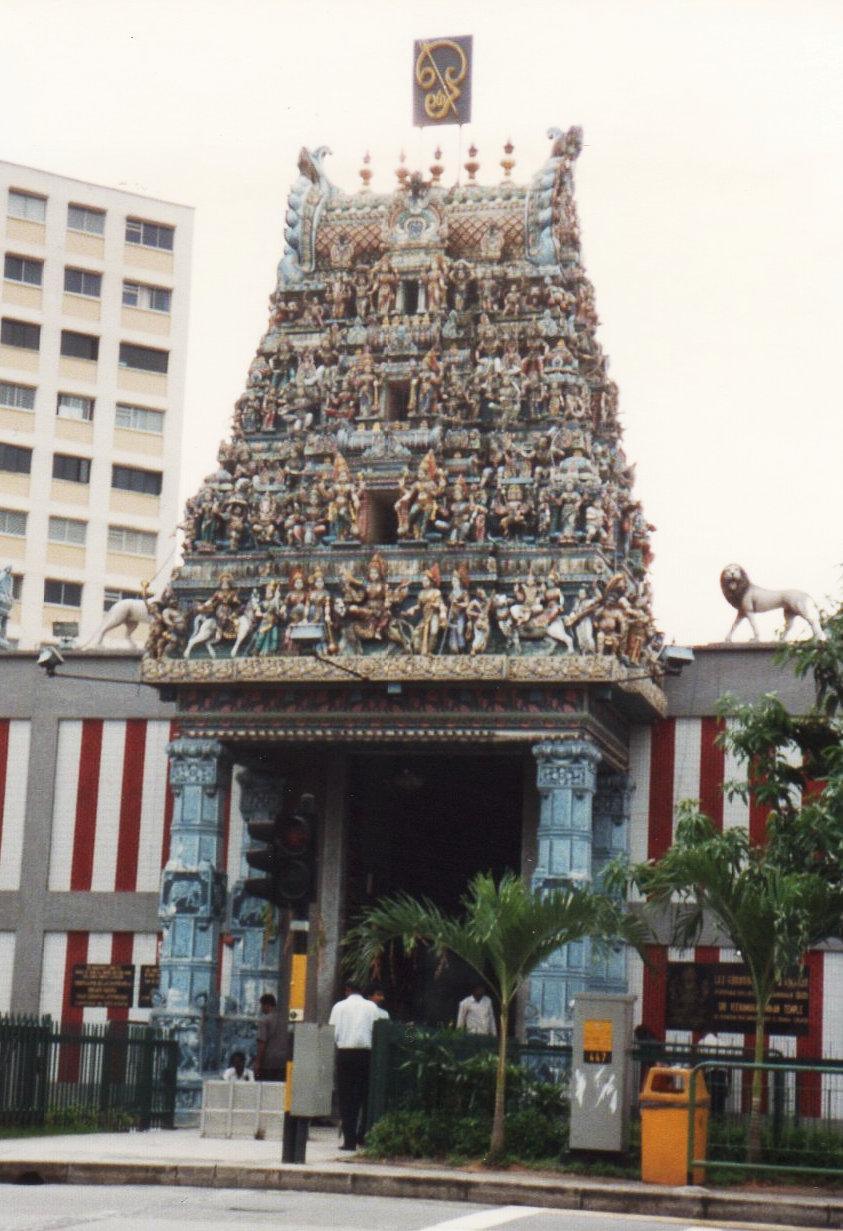 シンガポール スリ・ヴィラマカリ・アマン寺院1994年209-1