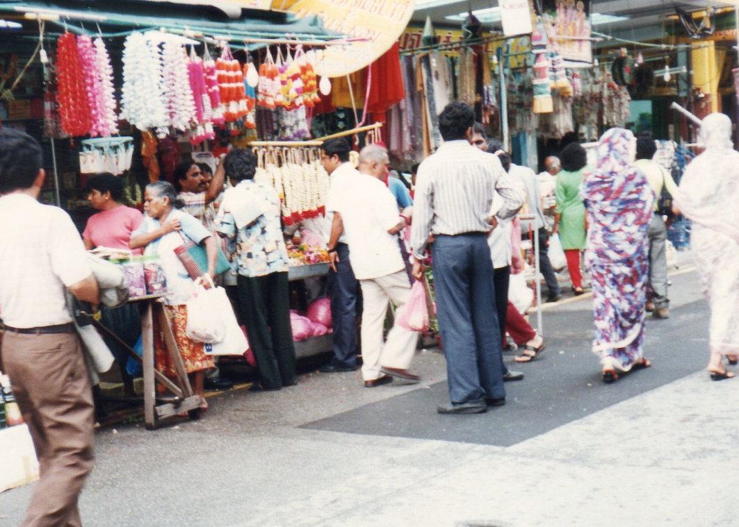 シンガポール1994年5月5日リトルインデアン スリ ヴィラマカリ・アマン寺院②192-1
