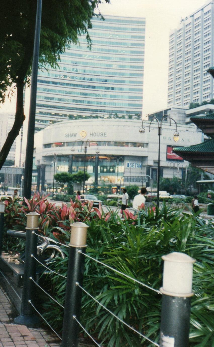 シンガポール1994年5月 5日 オーチャード通り①199-1