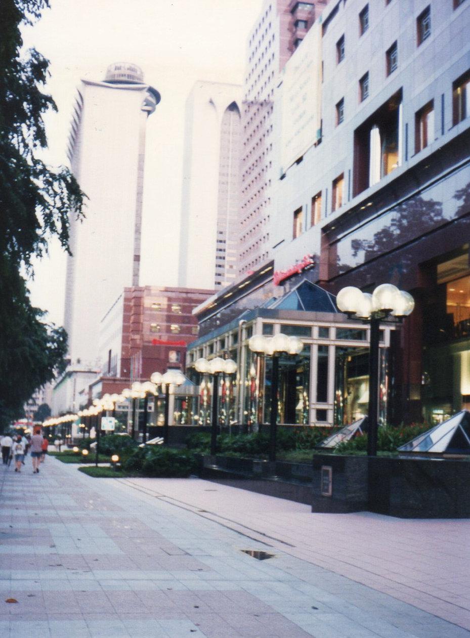 シンガポール1994年5月 5日 オーチャード通り③201-1