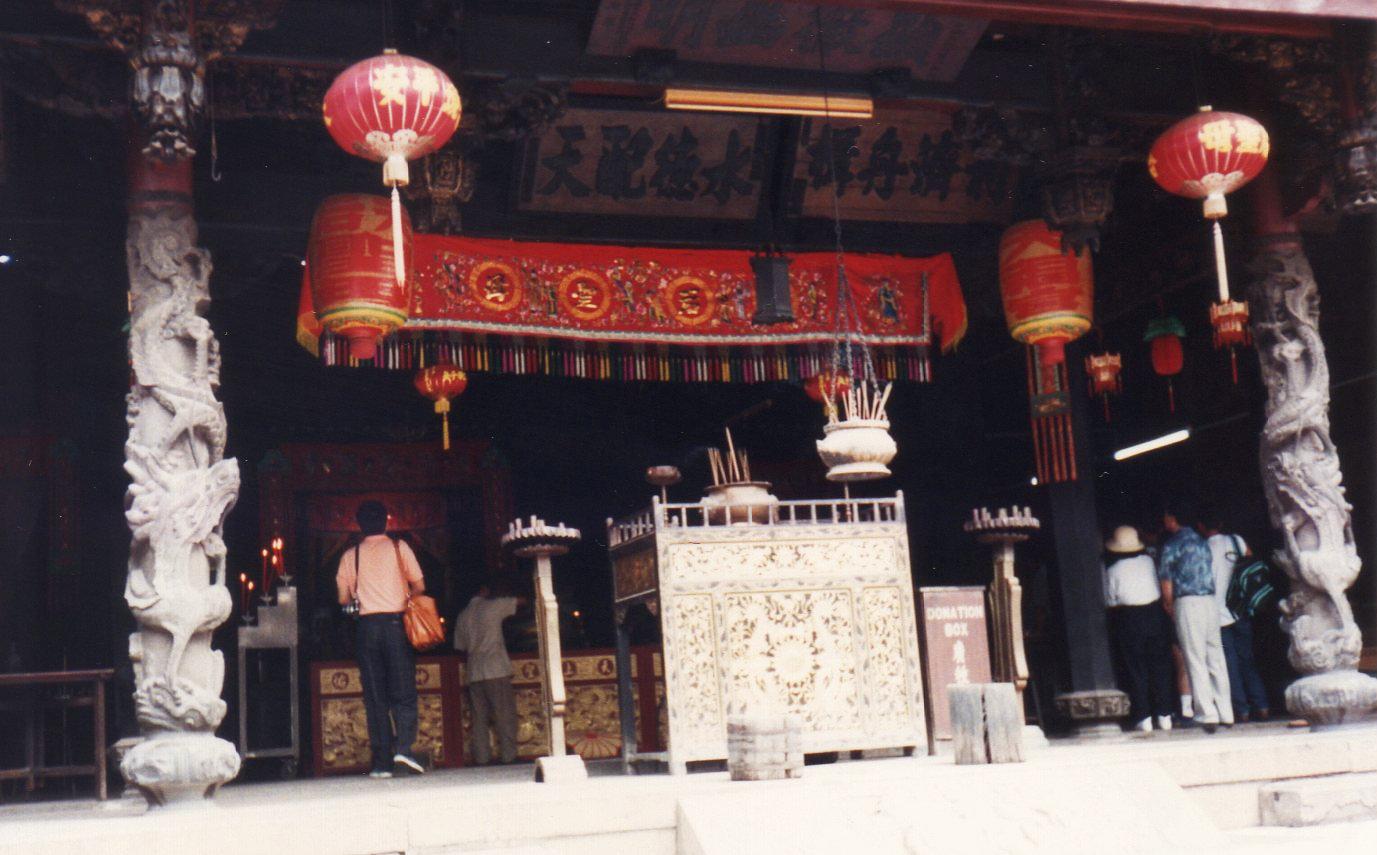 シンガポール 1994年5 チャイナタウ ン⑦217-1