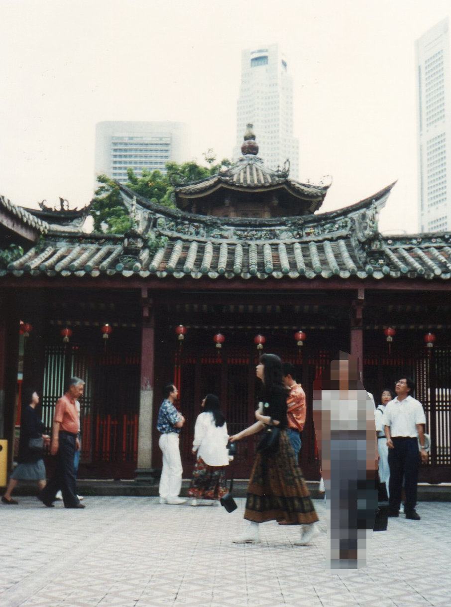 シンガポール 1994年5 チャイナタウ ン⑨219-1