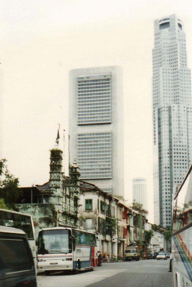 シンガポール 1994年5 チャイナタウ ン⑩トレンガヌ・ストリート221-1