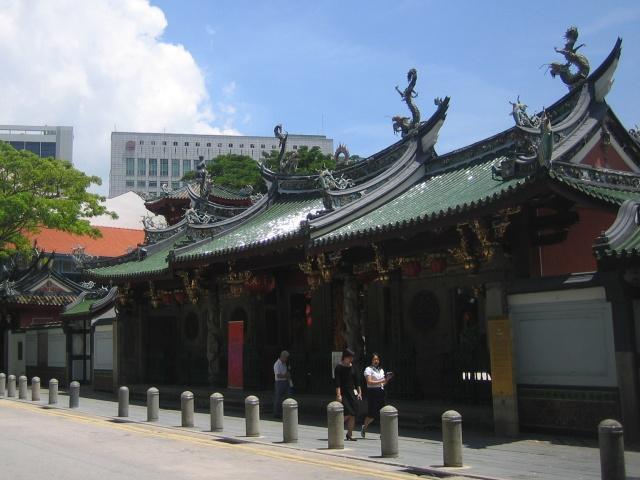 シンガポール シアン・ホッケン寺院①現在