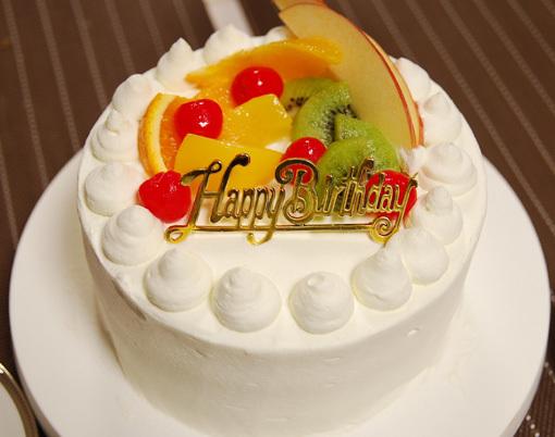 はちさんのゆるスキDiary-birthdaycake2