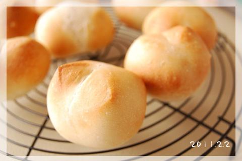 はちさんのゆるスキDiary-シンプル丸パン2